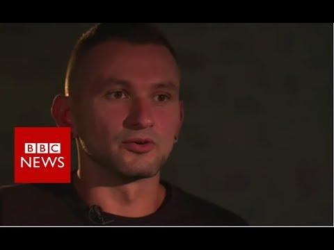 Ukrainian soldier: