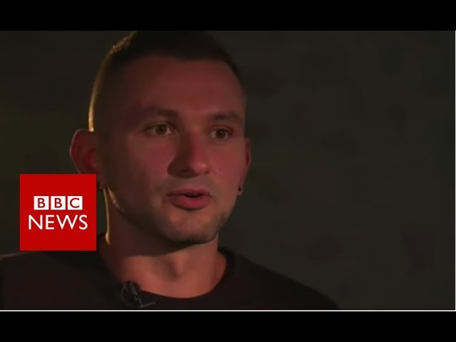 Ukrainian soldier: 'I couldn't say I was gay' - BBC News