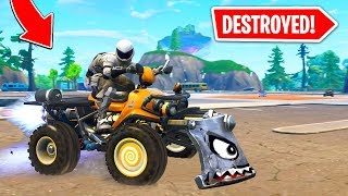 We *DESTROYED* Tilted Towers W/ QuadCrashers!