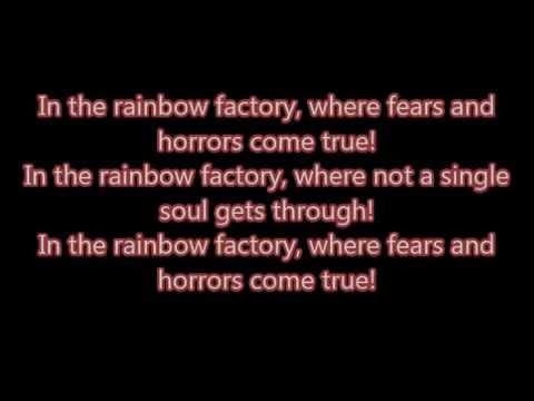 "WoodenToaster (Glaze) - ""Rainbow Factory"" lyrics"