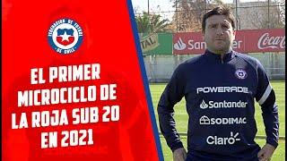 Patricio Ormazábal analizó el regreso a las prácticas de La Roja Sub 20