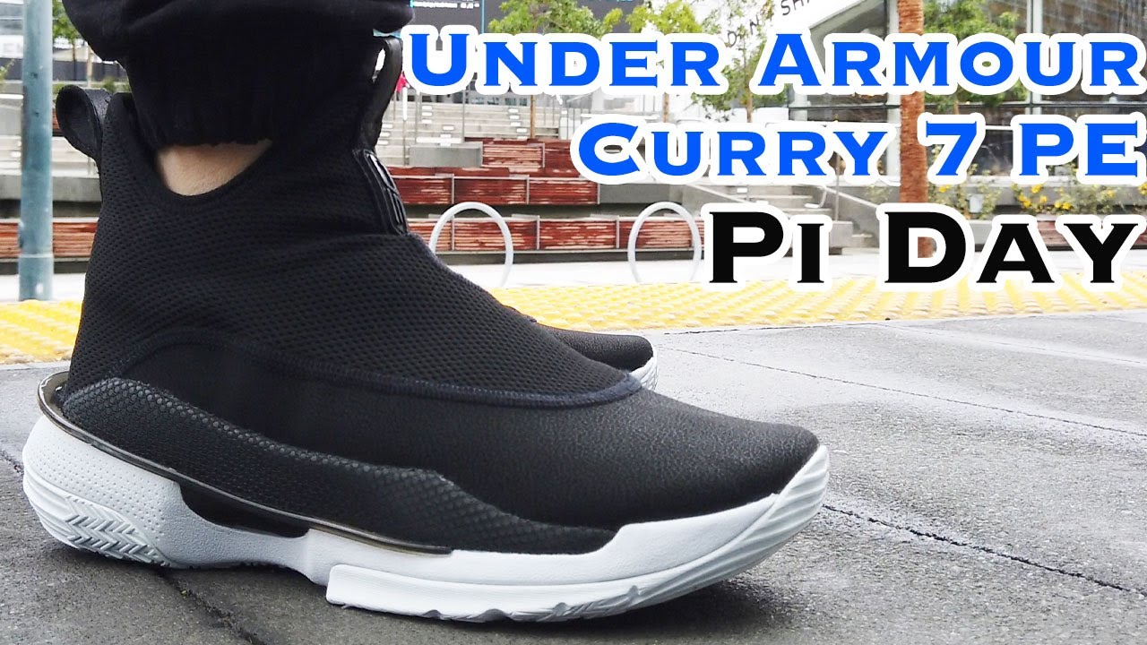 Under Armour Curry 7 Pi Day - Laceless