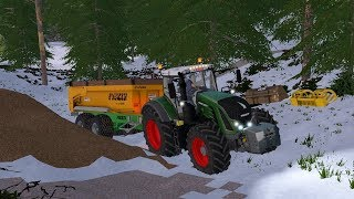 Farming Simulator 17 - Forestry and Farming on The Valley The Old Farm 002