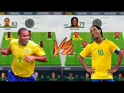 SELEÇÃO DOS CARECAS VS SELEÇÃO DOS CABELUDOS - QUEM FOI CAMPEÃO DA LIGA? FIFA 17 EXPERIMENTOS