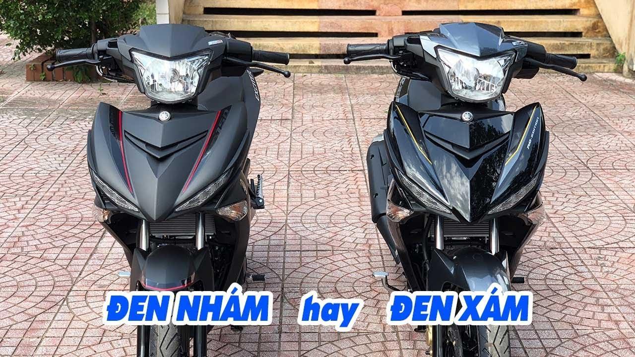 Yamaha Exciter 150 2018 ▷ So sánh Đen Nhám và Đen Xám, chọn xe nào?
