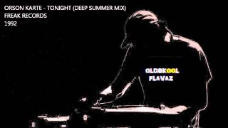 Orson Karte - Tonight (Deep Summer Mix)