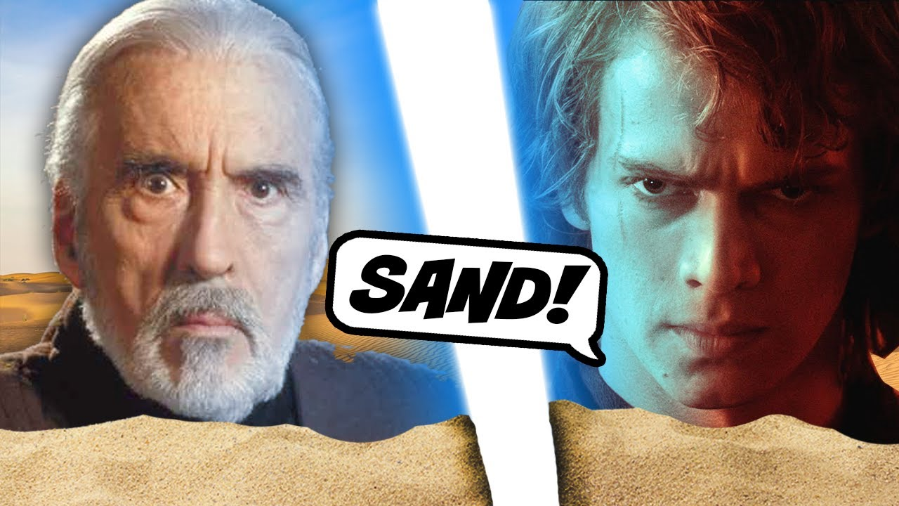 Dooku Finds Out How Much Anakin Hates Sand