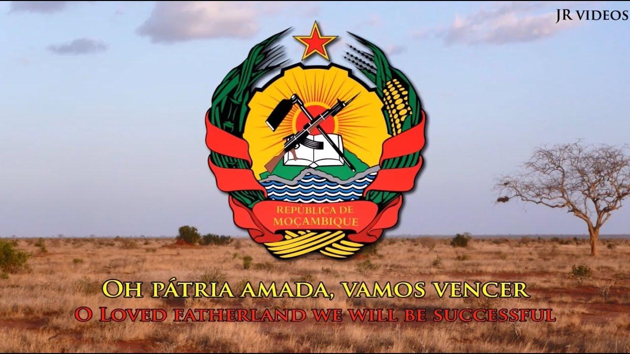 National Anthem Of Mozambique Pt En Lyrics Hino Nacional De Moçambique Youtube