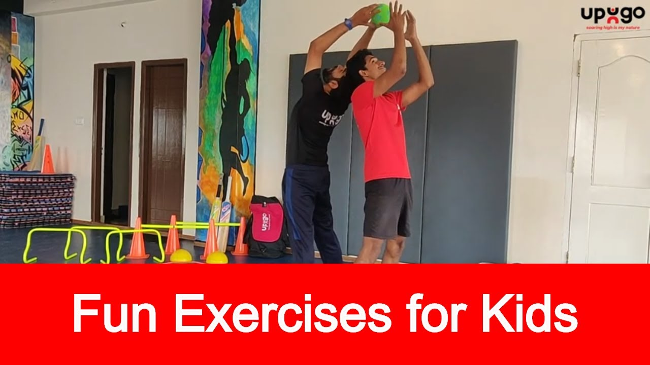 Fun Exercises For Kids Simple Exercises For Kids Kids Exercise Video 2020 Upugu Fitness Youtube