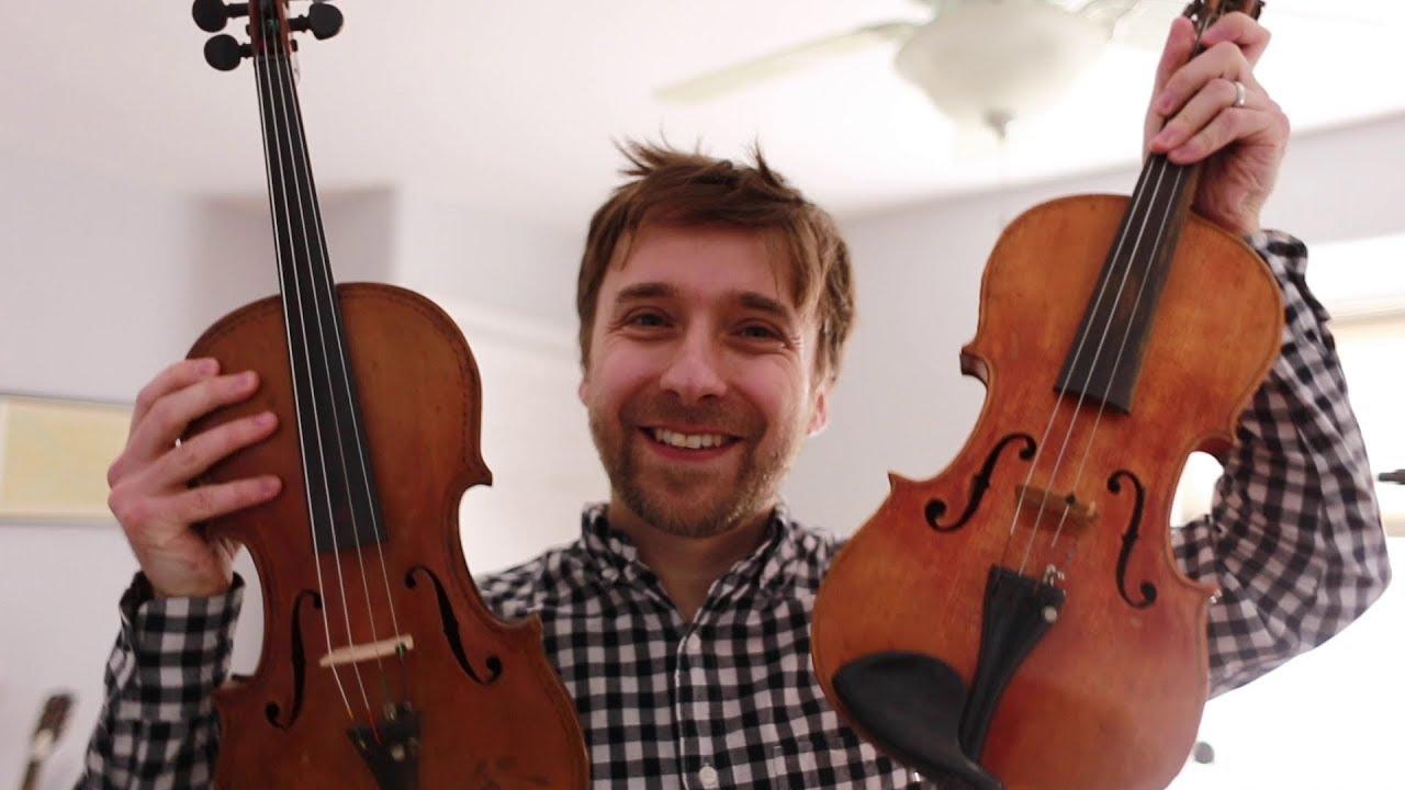 I bought two violins on the street! + FREE violin samples (Kontakt,  Ableton, SFZ)