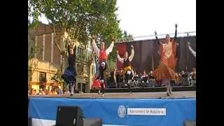 Bolero de Zaragoza, 30º Festival de jotas del Centro Aragones de Badalona La Plana 2012