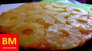 """Пирог """"Вверх дном"""" с ананасами. ВКУСНОЕ МЕНЮ. Пошаговое приготовление"""