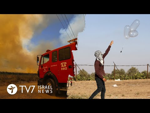 Gaza-Israel violence persist; Pompeo reaffirms US support to Jerusalem - TV7 Israel News 24.08.20