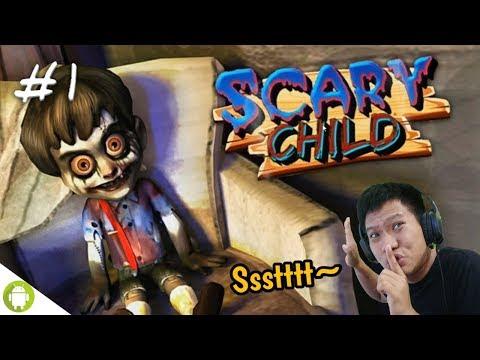 GABUNGAN BONEKA CHUCKY & ANNABELLE!! Scary Child 3D Part 1 [SUB INDO] ~Susah Juga Gamenya!! - 동영상