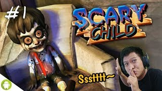 GABUNGAN BONEKA CHUCKY & ANNABELLE!! Scary Child 3D Part 1 [SUB INDO] ~Susah Juga Gamenya!!