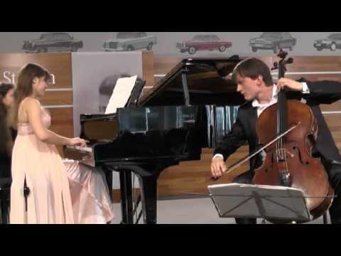 Anna Fedorova / Benedict Klöckner  Chopin sonata in G minor Op.65
