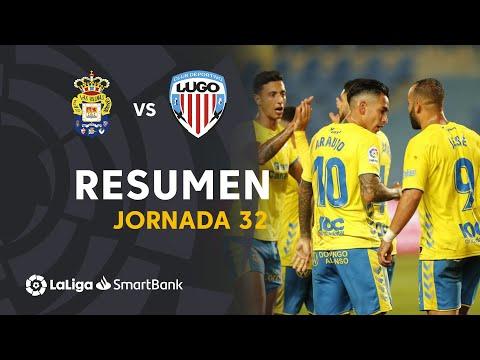 Resumen de UD Las Palmas vs CD Lugo (6-1)
