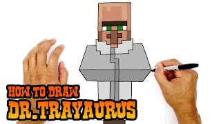 How to Draw Dr.Trayaurus | The Diamond Minecart