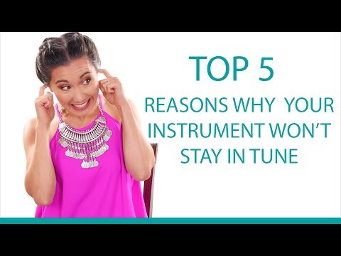 Top 5 Reasons Why Your Instrument Won't Stay In Tune - Guitar/Ukulele