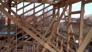 25 день строительства таунхауса в Краснодаре(Продажа таунхаусов, коттеджей в Краснодаре от 20 кв.м. от 500 000 рублей с участками земли от 0,5 сотки и более...., 2014-12-03T13:44:54.000Z)