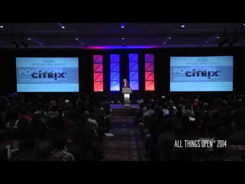 All Things Open 2014 | Mayor Nancy McFarlane | Welcome To Raleigh