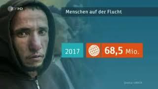 Krieg, Hunger, Diktatur + Kapitalismus = Weltweit 68,5 Mio. Menschen auf der Flucht