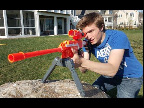 Nerf War: Sniper vs Sniper