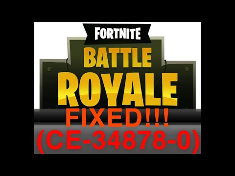 PS4 Fortnite And GTA Error (CE-34878-0) FIX!!
