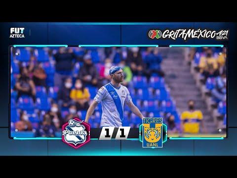 Puebla 1-1 Tigres UANL | Resumen | Jornada 4 | Liga BBVA MX