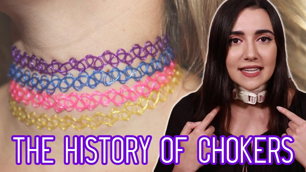 The History Of Chokers Youtube