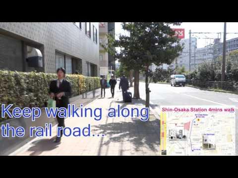 To The Airbnb House (Asu Shin Osaka) From Shin Osaka Station