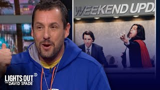 The Best Moments from Adam Sandler's Interview with David Spade - Lights Out with David Spade