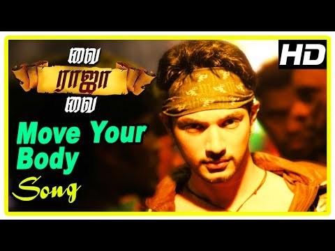 Vai Raja Vai Movie Scenes | Title Credits | Move Your Body Song | Gautham recollects past | Priya