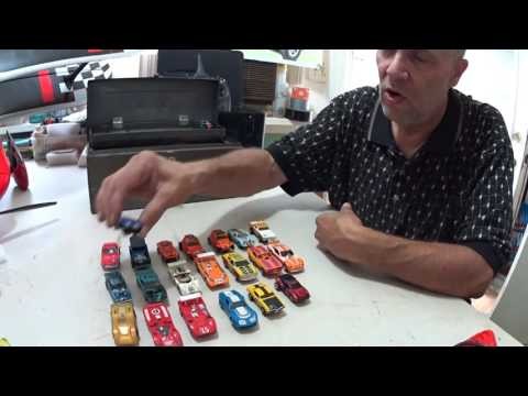 Vintage HO Electric Slot Car Collection,  Late 60's to Early 70's. Afx,Tyco etc.