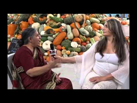 Dr. Vandana Shiva, Indian scholar, environmental activist.