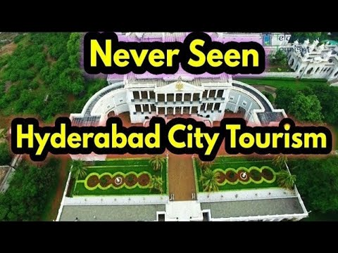 Never Seen Beauty of Hyderabad City Aerial View