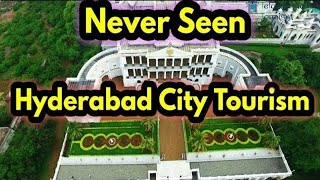 Never Seen Beauty of Hyderabad City Aerial View | | Drone Shoot | | Hybiz TV Original