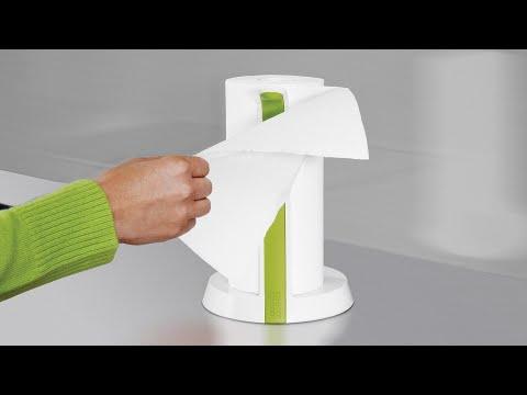 Joseph Joseph Easy-Tear™ - Kitchen roll holder with tearing blade