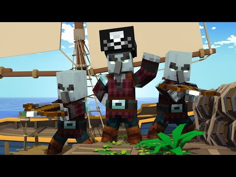 These ILLAGERS can SAIL THE SEAS! (Minecraft Datapack Showcase)