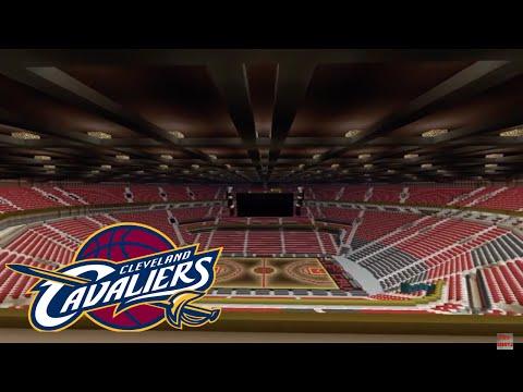 Minecraft Cleveland cavaliers arena/ Quicken loans arena