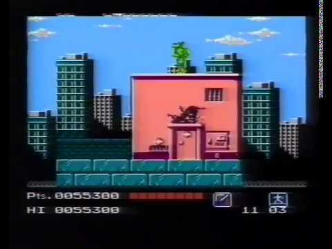 Teenage Mutant Ninja Turtles NES Commercial