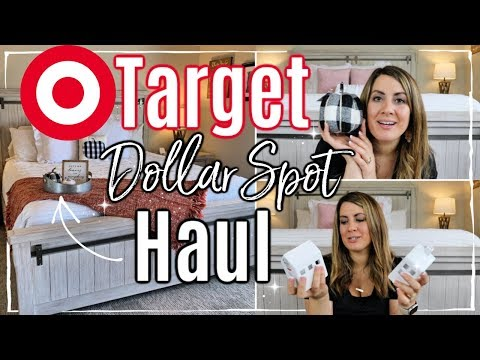 NEW! TARGET DOLLAR SPOT FALL 2019 HAUL :: AFFORDABLE HOME DECOR HAUL :: This Crazy Life
