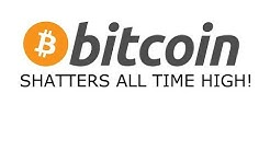 BITCOIN HITS ALL TIME HIGH!