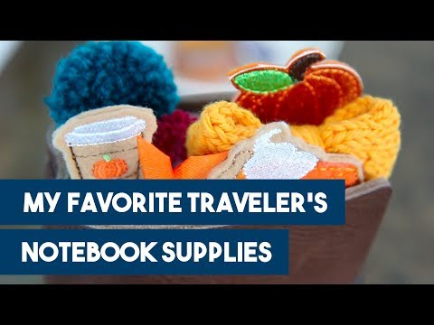 My Favorite Traveler's Notebook Supplies