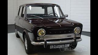Simca S1000 GLS 1968 -VIDEO- www.ERclassics.com