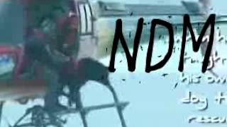 Rescue Dogs Jump From Helicopter