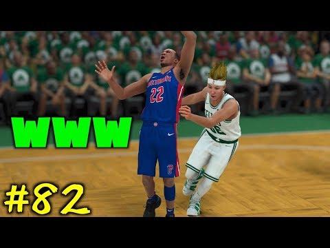 【NBA 2K18】#82 相手の脇腹をつねる極悪非道ボーラーJUNJUN!まさかのタイミングでパスカットも大成功で爆笑www【マイキャリア】