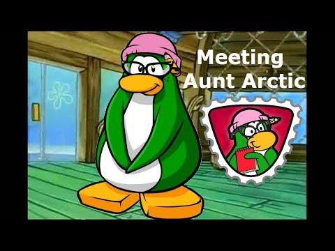 MEETING AUNT ARCTIC (Club Penguin Rewritten)
