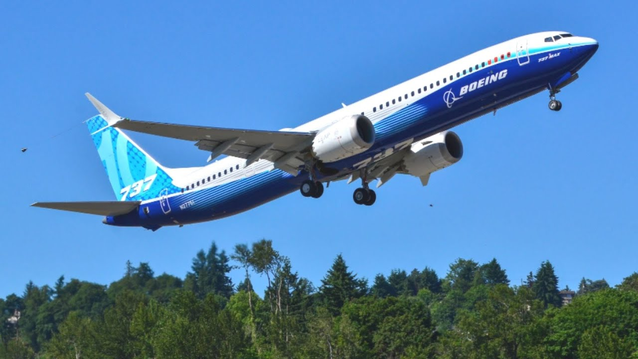 Newest Version of Boeing's 737 MAX 10 made its first test flight