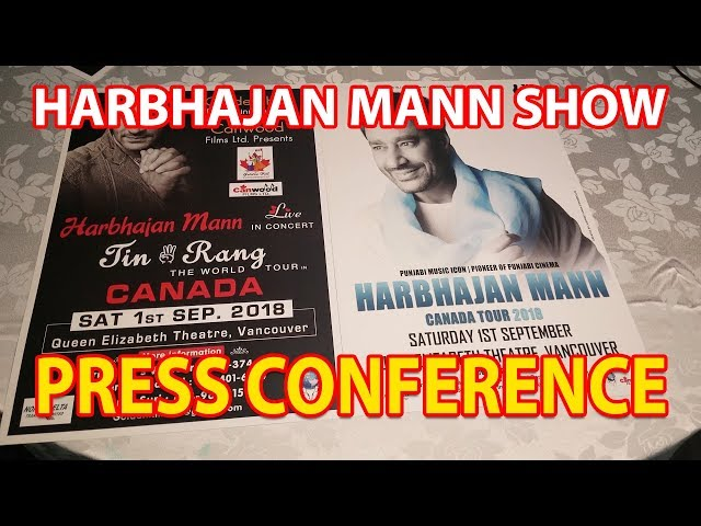 Coming Up!! Harbhajan Mann Concert